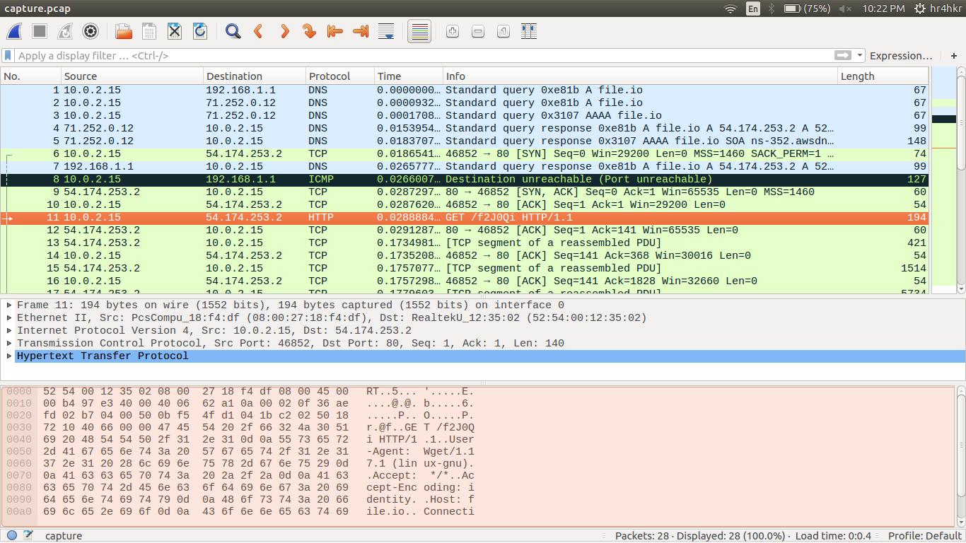 Basic Wireshark Usage - bi0s wiki