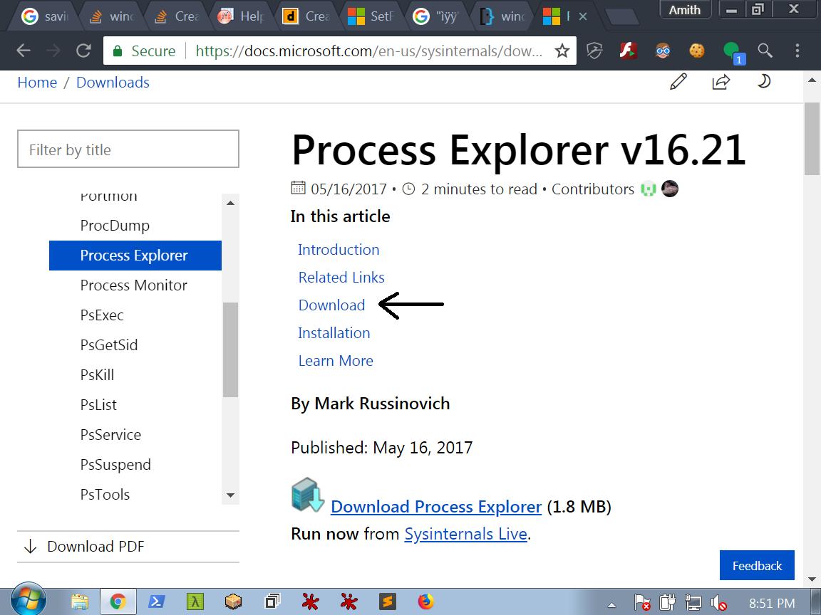 Process Explorer - bi0s wiki